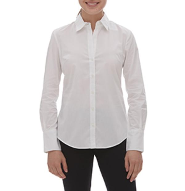 chemise en coton extensible