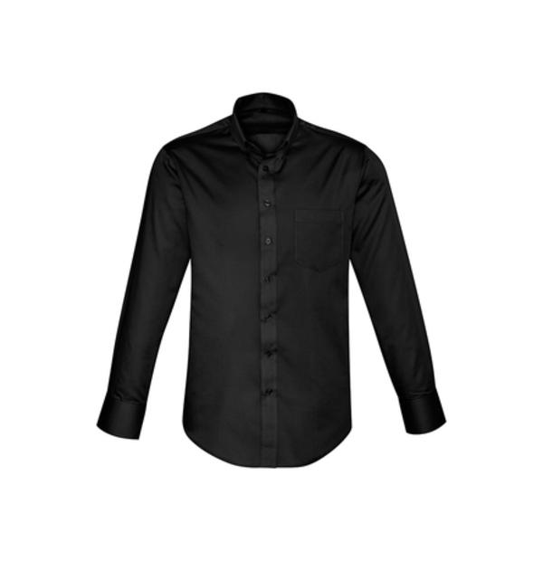 chemise manche longue infroissable et antitaches