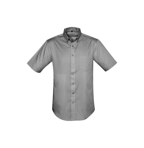 chemise manches courtes infroissable et antitaches