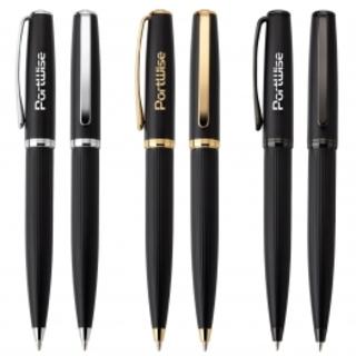 PJL-3166 chic stylo en laiton fini mat