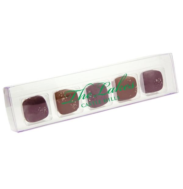 Chocolats caramel et fleur de sel