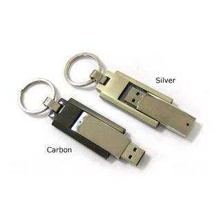 PJL-3363 clé usb en métal, rotative