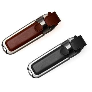 PJL-3360 Clé USB fini simili cuir et métal