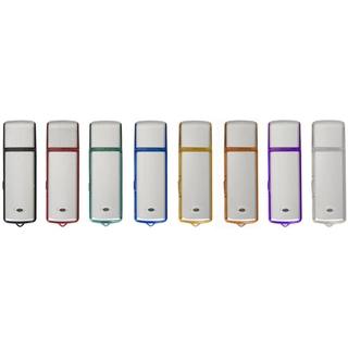 PJL-3332 Clé USB - métal et plastique translucide