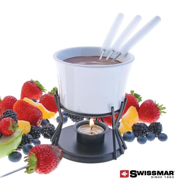 Ensemble à fondue au chocolat