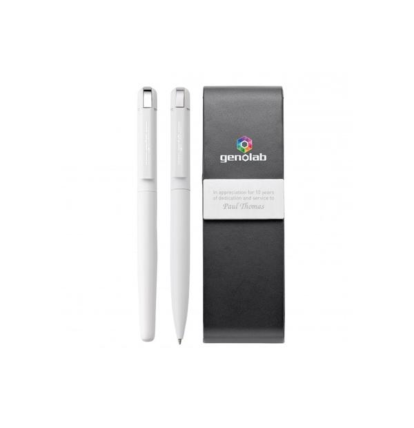 Ensemble de stylo à bille et stylo à bille roulante