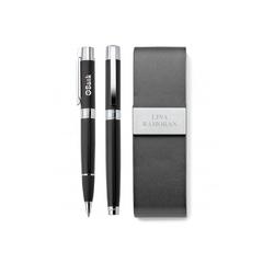Ensemble de Stylo à bille roulante et de stylo à bille en laiton