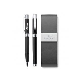 PJL-5565 Ensemble de Stylo à bille roulante et de stylo à bille en laiton