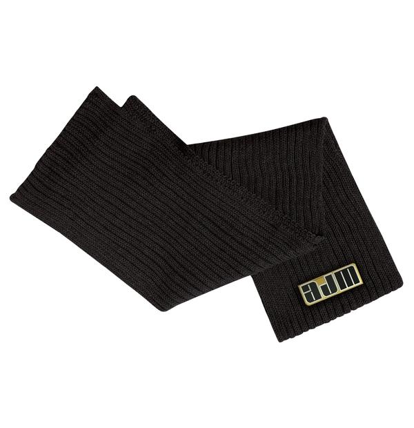 Foulard en tricot côtelé large