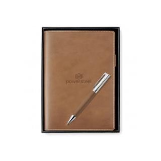 PJL-5684 journal en cuir et crayon