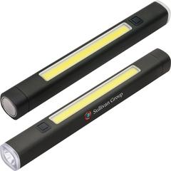 Lampe de poche avec base magnétique