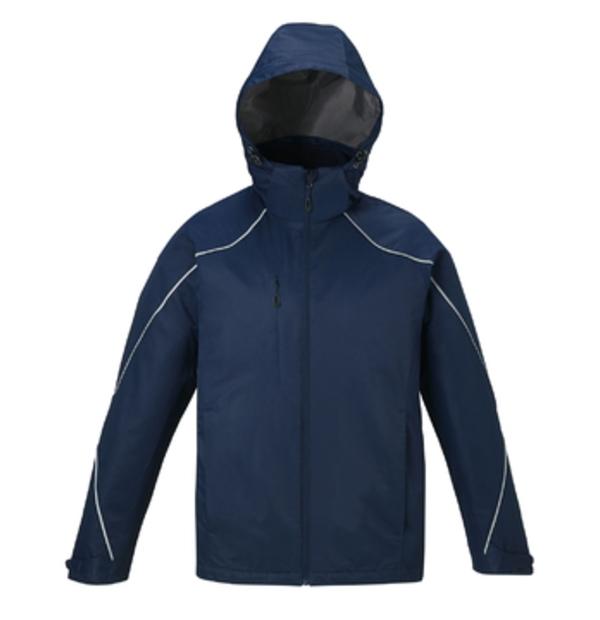 manteau 3 en 1, contrecollé de molleton