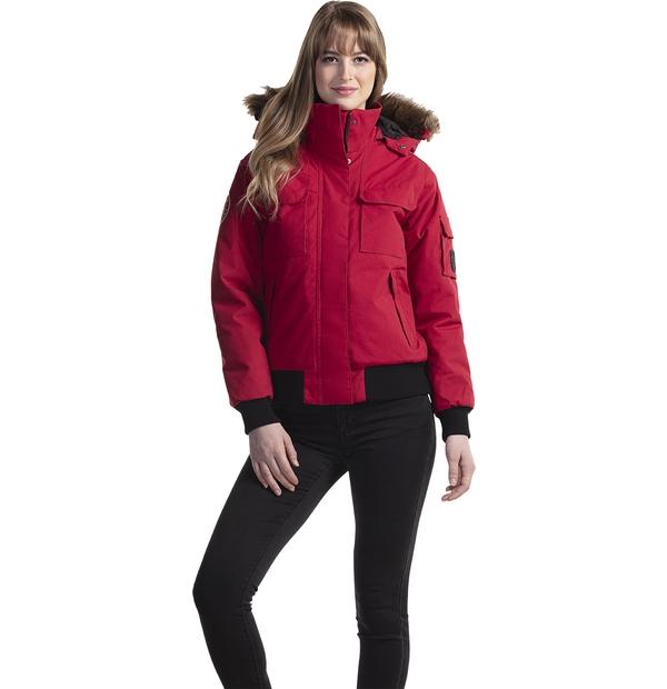 manteau aviateur pour froid intense femme