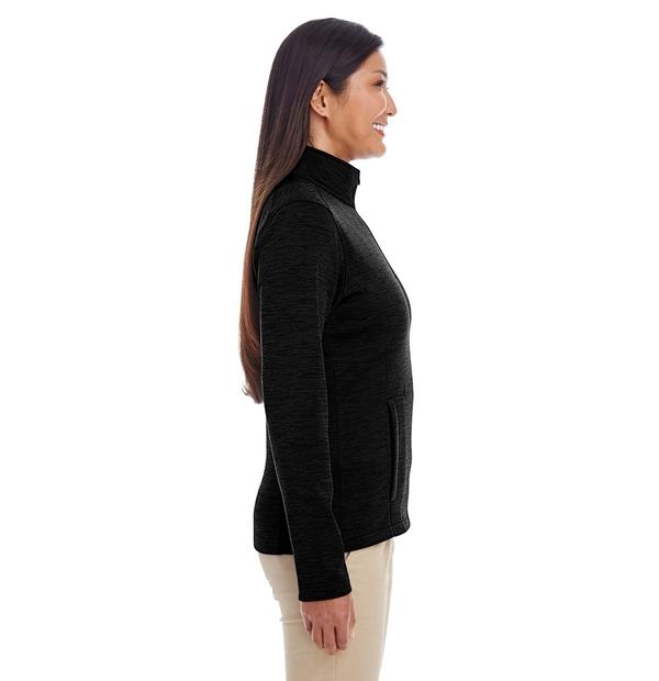 manteau en molleton avec glissière mi-hauteur
