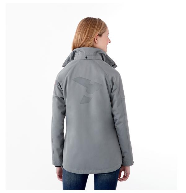Manteau souple 3-en-1 femme