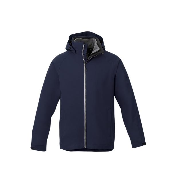 Manteau souple 3-en-1 homme