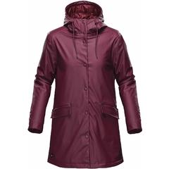 Manteau de pluie isolé femme