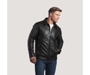 manteaux de cuir