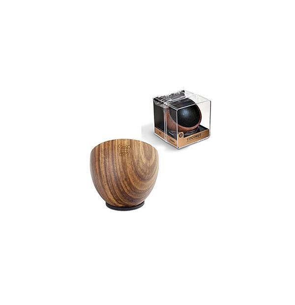 Petit haut parleur sans fil en bois