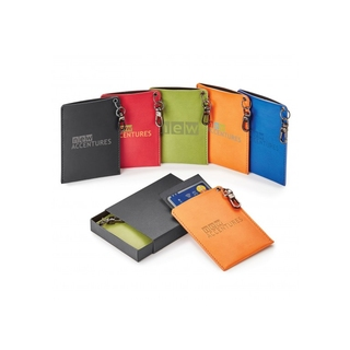 PJL-4869 Porte-cartes avec RFID et carnet mémo