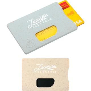 PJL-6178 Porte-cartes RFID en tige de paille de blé