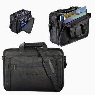 PJL-2747 porte-documents similicuir, compartiment cousiné pour portable