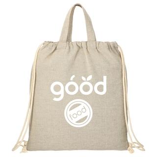 PJL-6110 Sac fourre-tout/sac à dos en coton recyclé