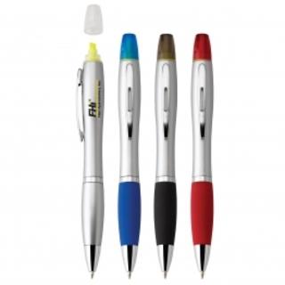 PJL-3134 stylo à bille à rotation et surligneur
