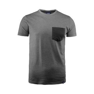 PJL-5538 T-shirt col rond avec poche poitrine