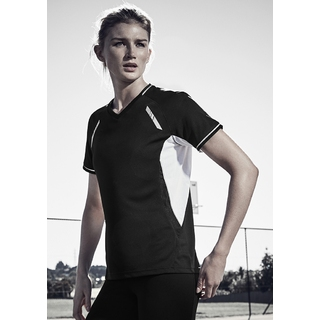 PJL-5450F T-shirt micro-polyester et col en v