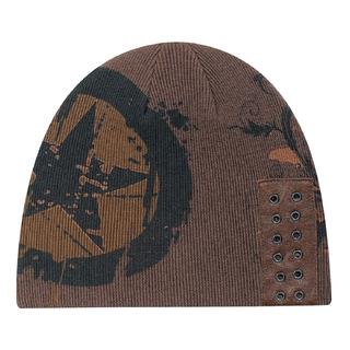 PJL-5285 Tuque en tricot côtelé