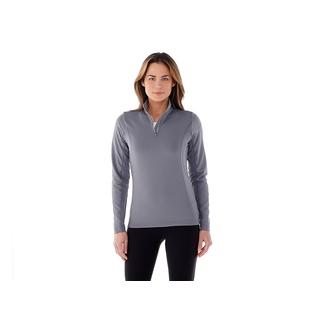 PJL-5133F Veste en tricot à glissière 1/4 femme