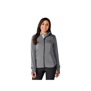 PI-6241F Veste en tricot avec fermeture éclair contraste